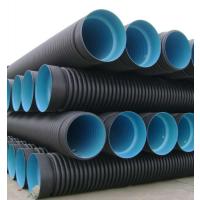 云南HDPE管 昆明双壁波纹管 PE钢带增强管 中空壁缠绕管
