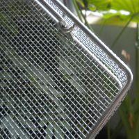 厂家定制冲孔不锈钢消毒筐 网筐