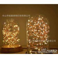 新款台灯 时尚玻璃创意床头台灯 新款LED台灯 酒吧咖啡店装饰台灯