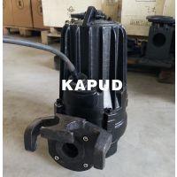 潜污泵 2.2KW WQ25-14-2.2 排污泵带耦合扣 水泵配耦合挂件 凯普