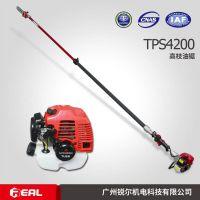 三菱TU26伸缩型4.2米高枝汽油锯,三菱高枝修剪机/绿篱机