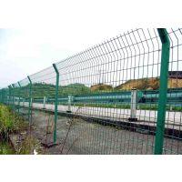 铁路隔离栏围网@道路安全防护护栏网施工方案@浸塑护栏网厂家