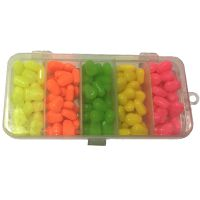 鲤鱼饵多色路亚饵套装5色仿真自带香味玉米粒套盒