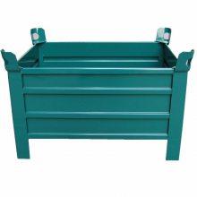 有效利用厂房空间,增大零部件储存量,节约生产成本的非标定制周转箱分类有哪些?