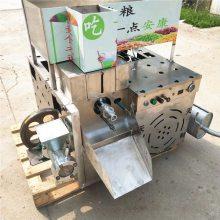 新款米碴子康乐果机器多少钱 月牙弯膨化机厂家直销