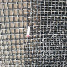 高锰钢轧花网 养猪轧花网材质 镀锌编织网