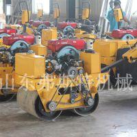 小型手扶双轮压路机生产供应 微型震动压路机价格