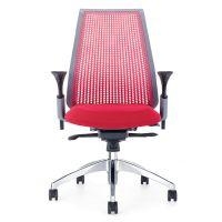 塑料背办公座椅 众晟高档职员电脑椅 简约员工升降旋转椅子