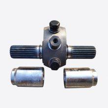 管式螺旋输送机配件 搅拌站灰泵绞龙中吊轴 优质铸钢材质耐磨套花键套