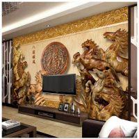 竹木纤维板背景墙uv打印机 3d浮雕木板uv平板打印机 2513理光g5