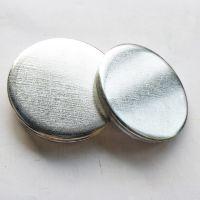 云哲 自产自销 冲压件铁圆片 铁圆片圆铁片 可加工定做实心无孔垫片