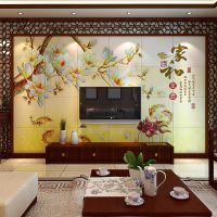 瓷砖背景墙UV平板打印机 3d微晶复合 工艺术电视玻璃彩印机|理光G5-2513打印机