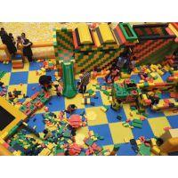 大型拼接积木厂家直销 epp城堡方砖 室内儿童积木王国