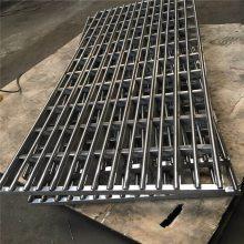 新云 批发304不锈钢实心加厚盖板 防臭直通式雨水篦子 下水道排水盖板