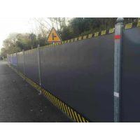 现货直供地铁彩钢夹芯板围挡 建筑工地施工隔离PVC围挡