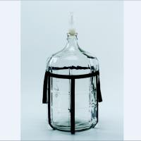 山东大细口玻璃瓶carboy 5-25L厂家高密美德公司