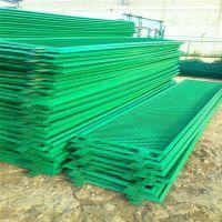 厂家现货直销 防炫目围栏网 铁丝焊接框架围栏网 高速公路安全隔离栏