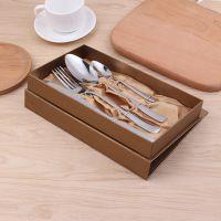 厂家直销不锈钢餐具套装 创意礼品不锈钢餐具四件套 家用酒店用品