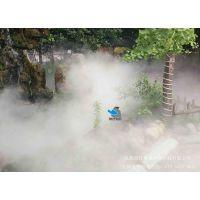 成都生态餐厅农家乐庄园喷雾降温喷淋降尘设备人造雾喷雾降温喷淋设备