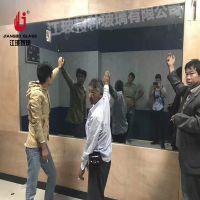防爆 监狱审讯室单向玻璃 检察院办案区辨认室单反玻璃