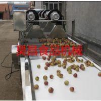 供应昊昌肉制品冷却风干流水线 酱菜瓶表面清洗风干机
