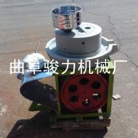 肠粉制作石磨 黄豆大米加工电动石磨机 骏力牌 小磨香油机 畅销