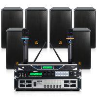 培训室音响套装S62B/BX112大型会议室音响调音台功放话筒套装
