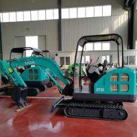 山东森泰小型挖掘机 18型履带挖掘机 农用挖沟机价格