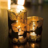 HOLY酒吧酒店家居定制特色玻璃烛台烛杯