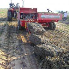内蒙古玉米秸秆捡拾方捆机价格 鑫联牌1900型秸秆方捆机图片