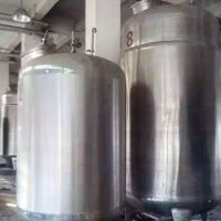 天沃不锈钢单层储存罐 移动贮储罐