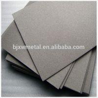 GR2 titanium foam plate with high quality