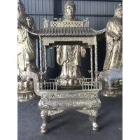 苍南苍鸿铸造铜香炉 寺庙铜香炉定做 大型黄铜香炉