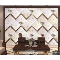 定制现代艺术拼镜菱形镜电视餐厅客厅拼镜背景墙车边镜