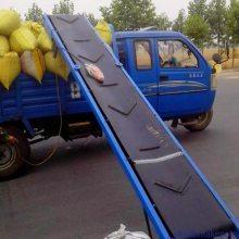 [都用]箱装芒果皮带输送机 水平式输送机价格 大倾角皮带机定做
