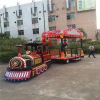 郑州宏德游乐设备供应新型游乐设备无轨火车,旅游观光车