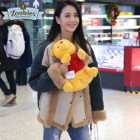 美国Zoobies 迪士尼系列毛绒玩具抱枕空调毛毯三合一 佟丽娅同款高级法兰绒