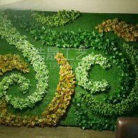 北京厂家 人造植被墙 配材配件假绿植墙装饰塑料植物草坪假花把束批发