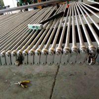 山东不锈钢支杆网链厂家 乾德食品输送网链供应