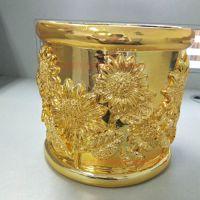 拜尔纳米 陶瓷工艺品摆件 金色高光 纳米材料 环保表面处理工艺