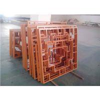 广东德普龙外墙焊接铝型材窗花加工定制厂家直销