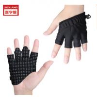 定制举重手套四指防滑耐磨运动护手掌男女士健身手套厂家直销