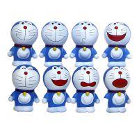 工厂定制搪胶公仔 蓝胖子创意卡通手办公仔动漫玩具广告宣传公益活动模型玩具