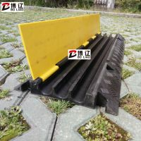 PVC线槽板橡胶线槽板厂家过线板批发 盖线板