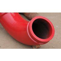 泵车5万方弯头,高锰钢双层泵管