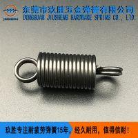玖胜供应优质拉伸弹簧 各种材质拉簧定制 带钩弹簧