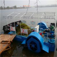厂家做直销水草清理设备割草机水葫芦破碎机水路两栖割草船科大15054403868