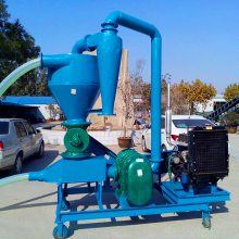 [都用]粉料灌装气力吸粮机 除尘式风力输送机 35吨气力吸粮机价格