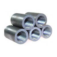 专业生产国标钢筋套筒 本色冷挤压连接套筒 直螺纹正扣套筒连接件