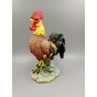 厂家直供树脂仿真工艺品 可爱十二生肖鸡动物摆件
